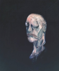 Francis Bacon, Study for Portrait II (After the Lifemask of William Blake)